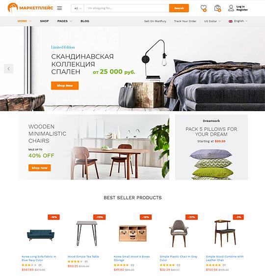Маркетплейс мебели